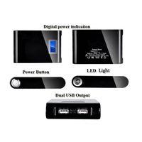 Digital Screen LED Portable Mobile Phones Power Bank 2 USB Output
