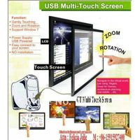 60 inch Infrared USB Multi Touch Panel /interactive touch screen-2 Points with Tempered Glass and mu thumbnail image