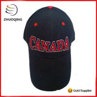 6 panel baseball cap for promotion