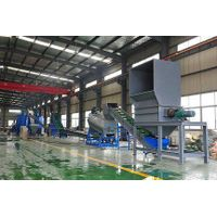 pet flakes washing and recycling machine