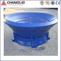 Cone Crusher Spare Parts Bowl liners