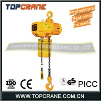 3ton Electric Chain Hoist With Trolley/Hook