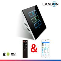 Remote Control Home lights/curtain/fan/AC Smart Wifi Switch Smart Home Controller from Lanbon Hi-Tec