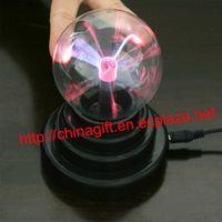 USB Plasma Ball Sphere Desktop Decorating Lamp thumbnail image