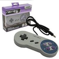 SNES - Controller - Wired - PC USB Compatible - Classic Style thumbnail image