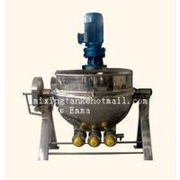 Jacketed kettle,industrial agitator,mixing vessel,mixing pot,agitation tank,industrial mixer,agitato