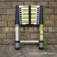 3.8m telescopic ladder , aluminum ladder, household ladder, aluminum ladder, household ladder -