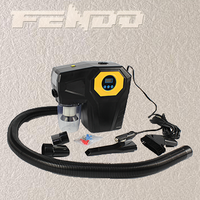multifunctional function 4 in 1 car vacuum cleaner with digital air compressor thumbnail image