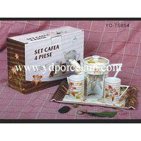 porcelain coffee&tea set thumbnail image