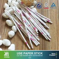 Customized printing logo and pattern paper stick