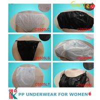 Disposable non woven underwear for woman
