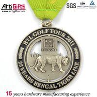 New product custom logo antique medallion thumbnail image