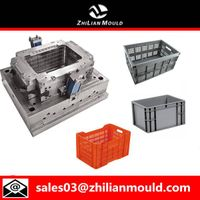 Fruit and vegetable crate mould with high precision