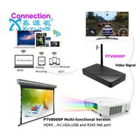 Airplay Mirrroing+ Miracast+ Dlna Device 1080P Wi-Fi Adapter Multi-media share PTV8000P