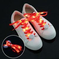 LED shoe laces Flashing shoe laces glow shoe laces China manufacturer supplier led flashing shoelace thumbnail image