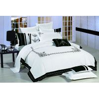 king size 8pc popular embroidery comforter set