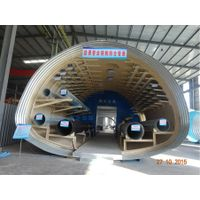 Corrugated Steel Utility Tunnelcorrugated metal culvert pipe suppilers