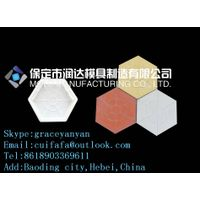 colored pavement brick mould