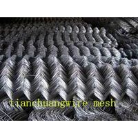 standard hot galvanized chain link fence