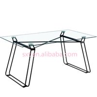 2018 glass dining table