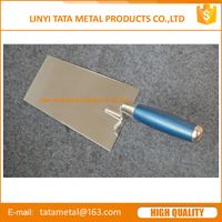 Bricklaying trowel with stainless steel blade thumbnail image