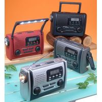 BC-600DA Portable Dynamo Clock Alarm DAB+ FM Digital SOS Radio for Cell Phone