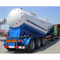 China factory 3 axles bulk silo tanker semi trailer v shape tank body for Ethiopia