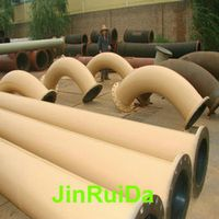 Natural Vulcanized Rubber Lined Pipeline