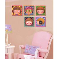 2015 newest carton photo canvas painting for kids