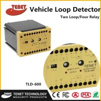 TLD-600 Double Channel Vehicle Loop Detector With Four Relay