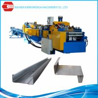 Automatic interchangeable c z purlin forming machine made in China thumbnail image