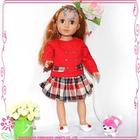 Doll soft toy,modern girl doll,happy girl doll