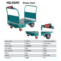 Platform Utility Cart for Materials Handling (HG-1020)