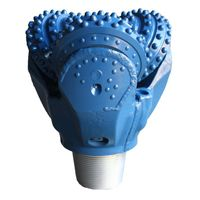 TCI tricone rotary drill bit for hard rock formation