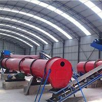 Rotary Drum Dryer Fertilizer Drying Machine On Sale