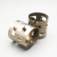 25mm stainless steel ss304 pall ring metal tower packing