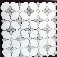 Factory direct supply marble mosaic white, mosaic tiles backsplish