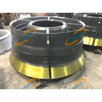 Mantle Bowl Liner Concave, Cone Crusher Wear Liner Manganese Casting Parts thumbnail image
