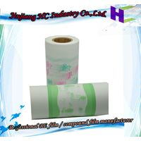 Nonwoven Fabric PE Film for Diapers, Under pads, and Sanitary Napkins