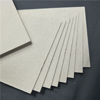 Top quality hard board grey card board for box making