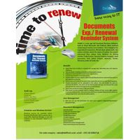 DOCUMENT RENEWAL REMAINDER
