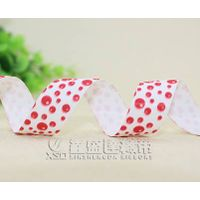 lovely printed polyester grosgrain ribbon,cheap price ,low MOQ thumbnail image