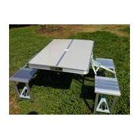 HXLK-044 Outdoor portable aluminum folding table thumbnail image