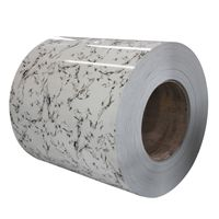 New design marble pattern color coated ppgi for sandwish panel