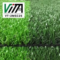 Outdoor synthetic grass non infill artificial turf for sale VT-2MSC25 thumbnail image