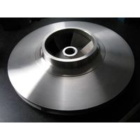 Stainless steel investment casting pump impeller used for oil pump