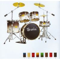 5-pcs PVC Drum Set thumbnail image