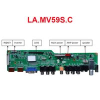 LA.MV59S.C TV Board with VGA/HDMI/AV/YPbPr/USB/Audio/TV Model: LA.MV59S.C Input: VGA/HDMI/AV/YPbPr/U