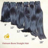 weft hair extensions vietnamese hair 100% remy hair thumbnail image