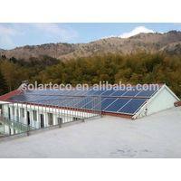 Hybrid MPPT solar power system for hospital school hotel shed